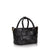 Criss-cross Mini Handbag - Black