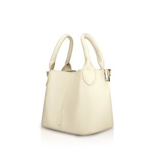 Savoy Mini Handbag - Cream