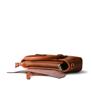 Mini Briefcase - Brown