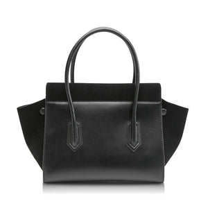 Owlet Flap Handbag - Black