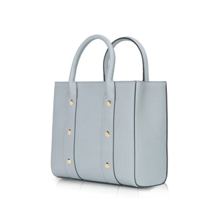 CAPRI Top Handle Bag - Light Blue