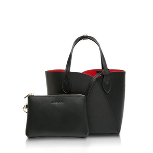 Mini Gemini Handbag - Black