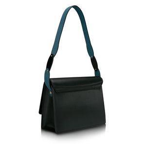 Halo Shoulder Bag - Black