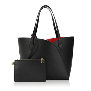 Gemini Tote Bag - Black