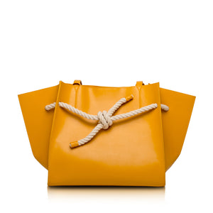Knot Tragetasche - Orange