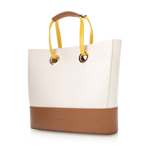 Morandi Drawstring Tote Bag - Cream