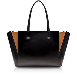 Intermezzo Tote Bag - Black/Russet Orange