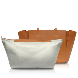 Intermezzo Tote Bag - Caramel Brown