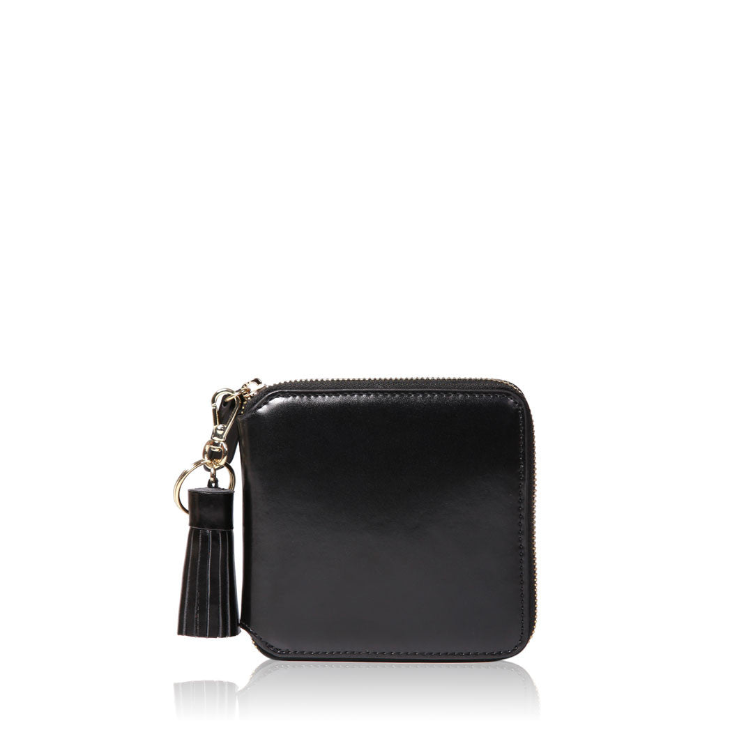 Tassel Wallet - Black