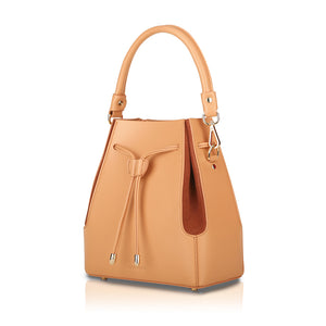 Intermezzo Bucket Bag - Coral Pink