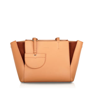 Intermezzo Medium Tote Bag - Coral Pink