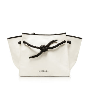 Knot Canvas Tote Bag - Off-White