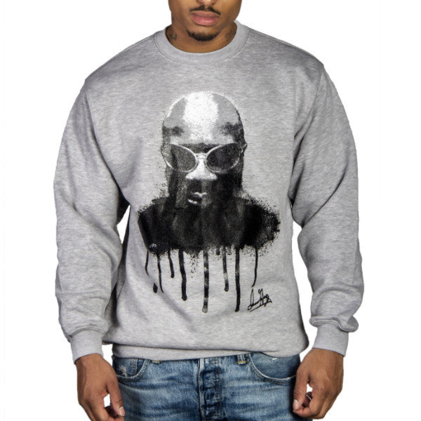 Grey Drippin Soul Sweatshirt