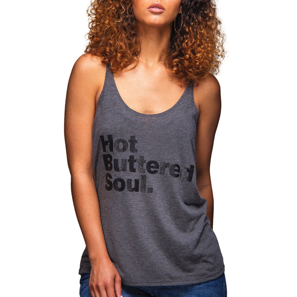 Hot Buttered Soul Slouchy Tank (Grey)