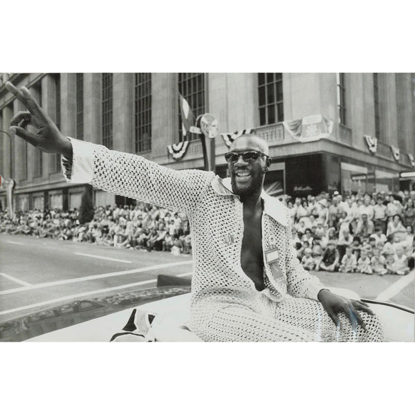 "Isaac Hayes - ""Soul On Parade"" Canvas Print"