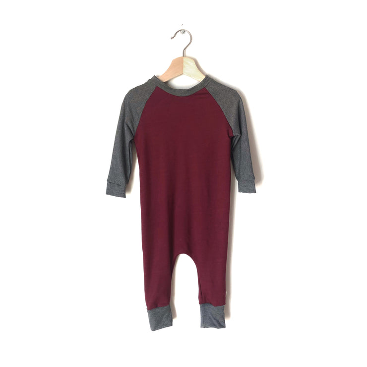 The Bordeaux Romper