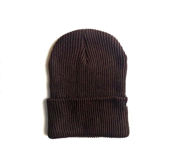 Brown Knit Beanie