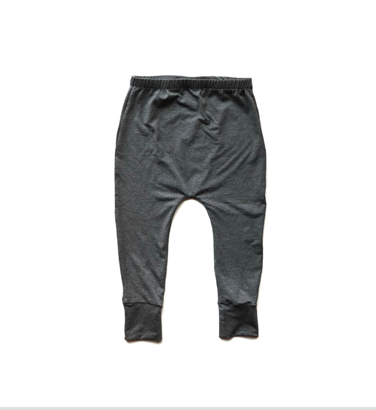 Basic Heather Grey Bamboo Harems