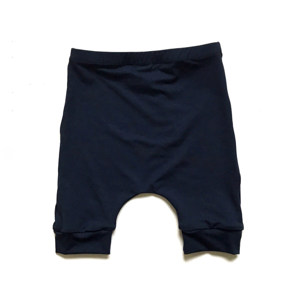 Navy Harem Shorts