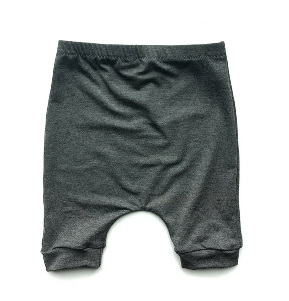 Heather Grey Harem Shorts