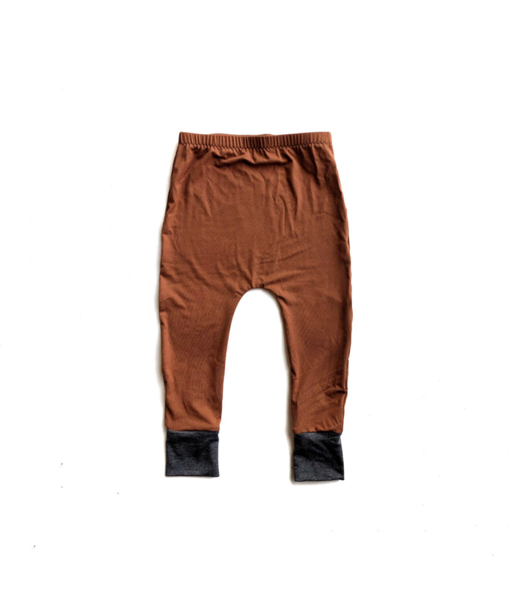 Burnt Orange Bamboo Harems