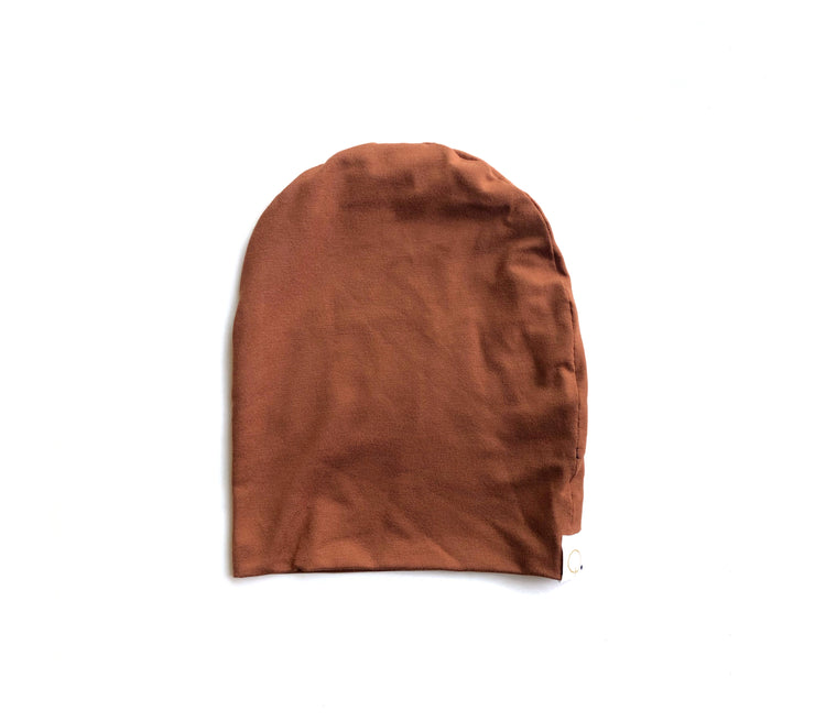 Mama Burnt Orange Slouchy Beanie