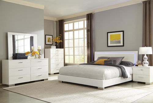 QUEEN 4 PC BEDROOM SET