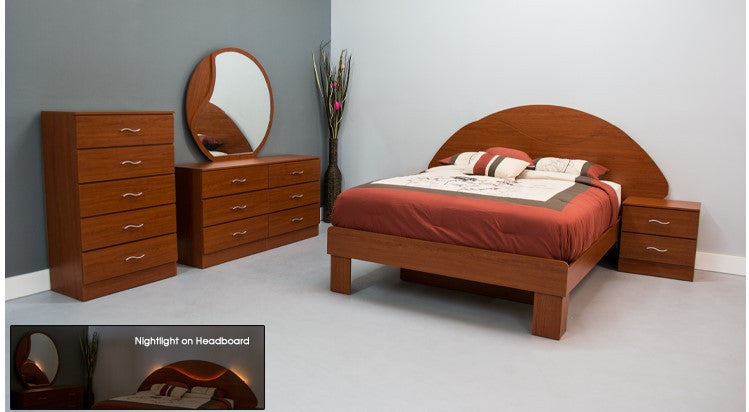 Wave Bedroom Set