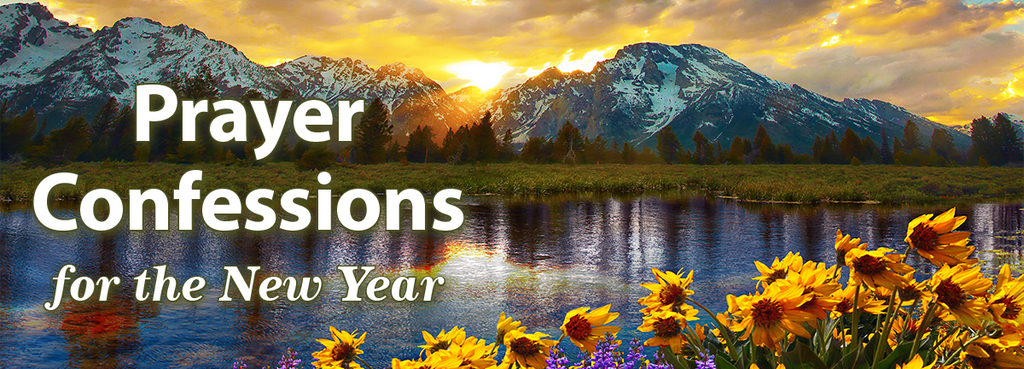 Prayer Confessions for the New Year