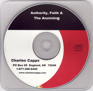 Charles Capps, Authority, Faith and the Anointing