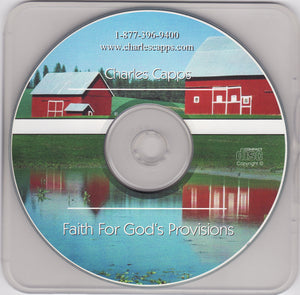 Charles Capps, Faith for God's Provisions Single CD