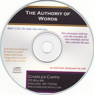 Charles Capps, The Authority of Words CD