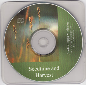 Charles Capps, Seedtime and Harvest CD