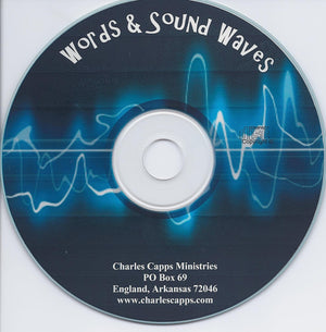 Charles Capps, Words & Sound Waves CD