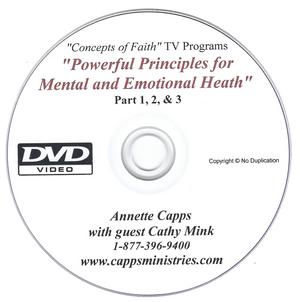 DVD of 3 TV Programs - Power Principles with Annette and Cathy