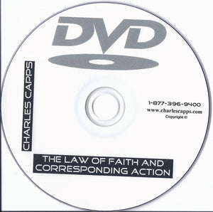 Charles Capps, The Law of Faith and Corresponding Action DVD