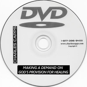 Making A Demand on God's Provision for Healing Package - January 2020 TV Product Offer
