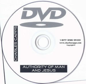 Charles Capps, Authority of Man and Jesus DVD