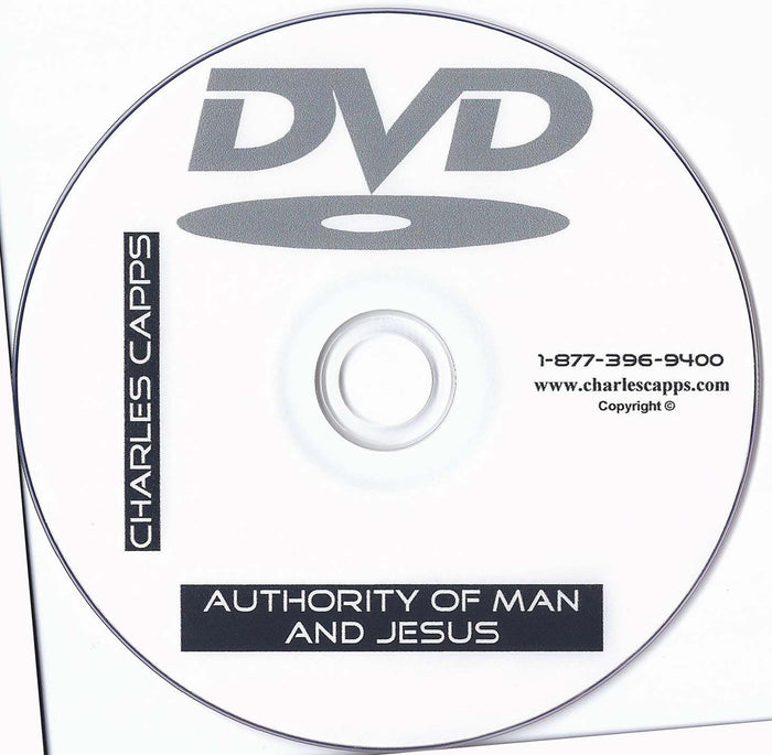 Authority of Man and Jesus