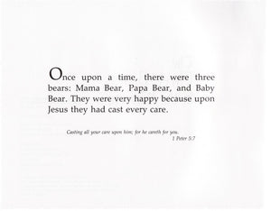 Beverly Capps, The Three Bears in the Ministry