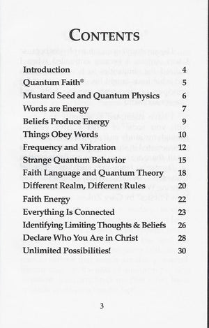 Annette Capps, Quantum Faith Book