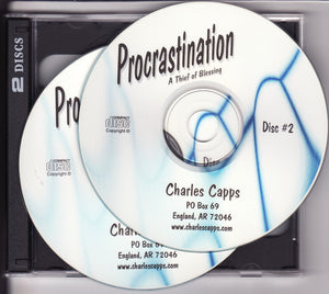 Charles Capps, Procrastination - A Thief of Blessing CDs