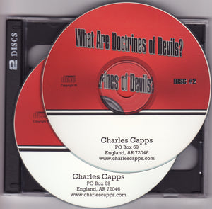 Charles Capps, What Are Doctrine's of Devils? CD