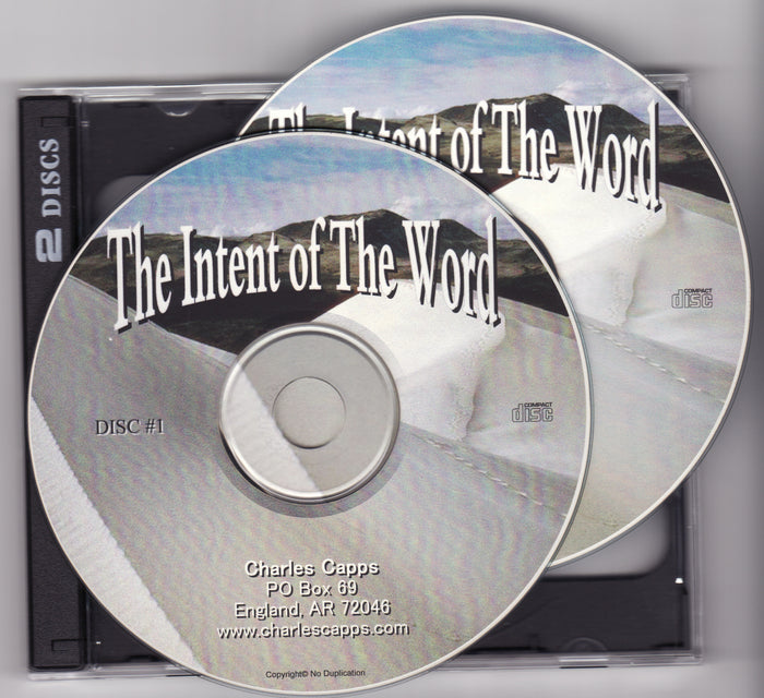 The Intent of the Word