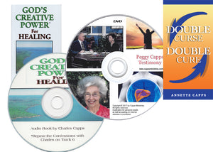 Peggy Capps Testimony  Healing Package