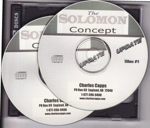 Charles Capps, Solomon Concept (Updated!) CDs