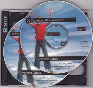 Annette Capps, Do You Know Who You Are? CDs