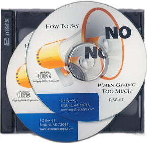 Charles Capps, How to Say No When You are Giving too Much CD