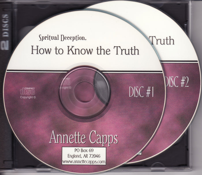 Spiritual Deception, How to Know The Truth