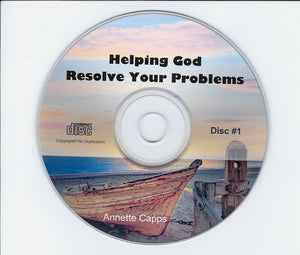 Helping God Resolve Your Problems